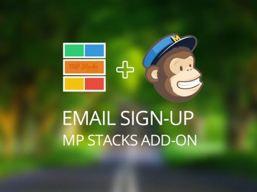 MP Stacks + MailChimp