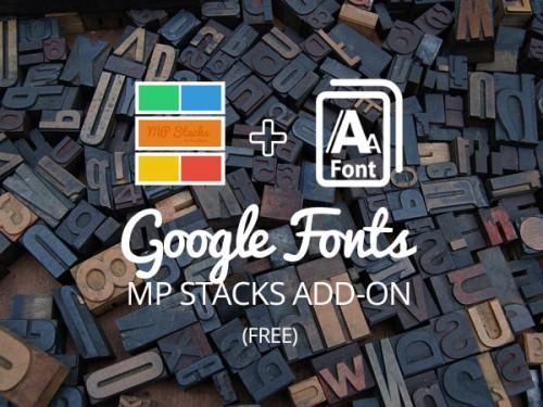 MP Stacks + GoogleFonts